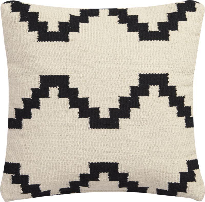 "16"" zbase throw pillow with down-alternative insert"