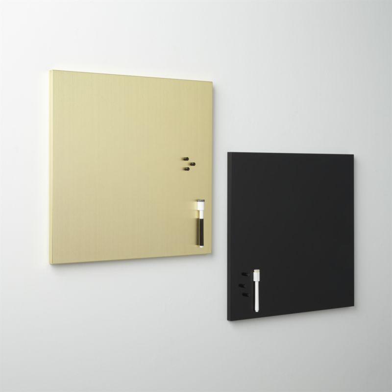 matte black magnetic-dry erase board