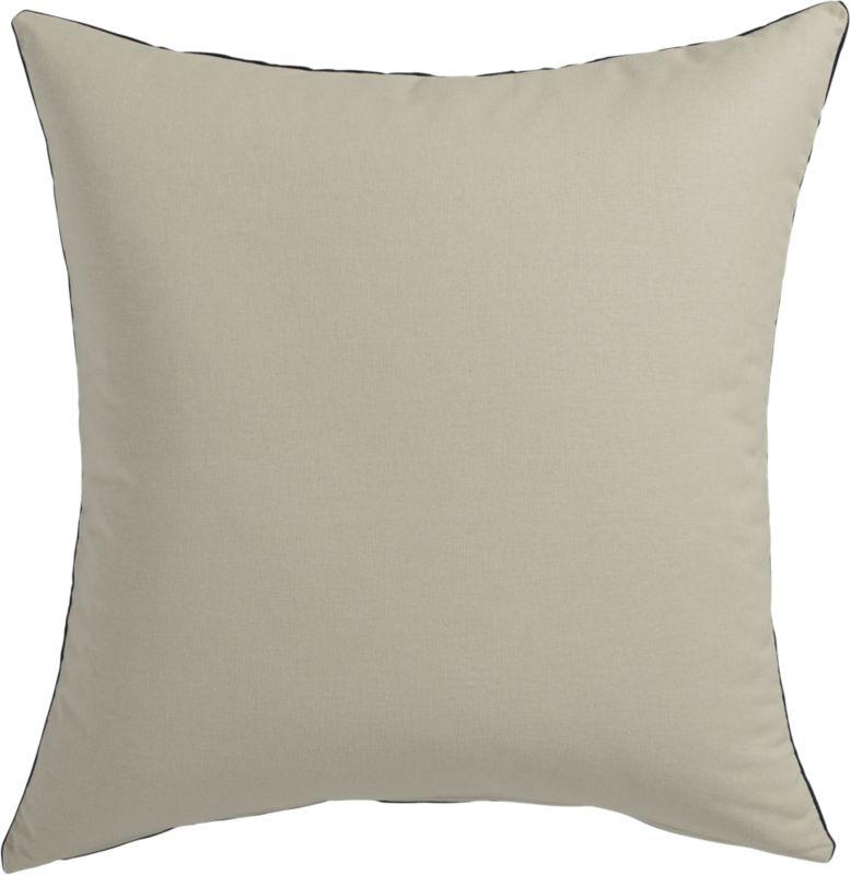 """""""23"""""""" leisure navy pillow with down-alternative insert"""""""