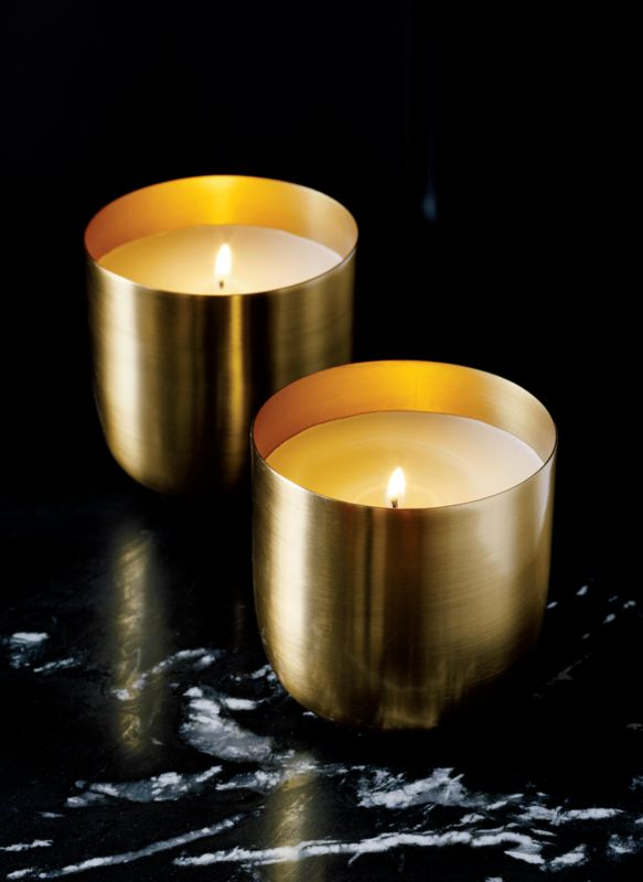 brass candle bowl