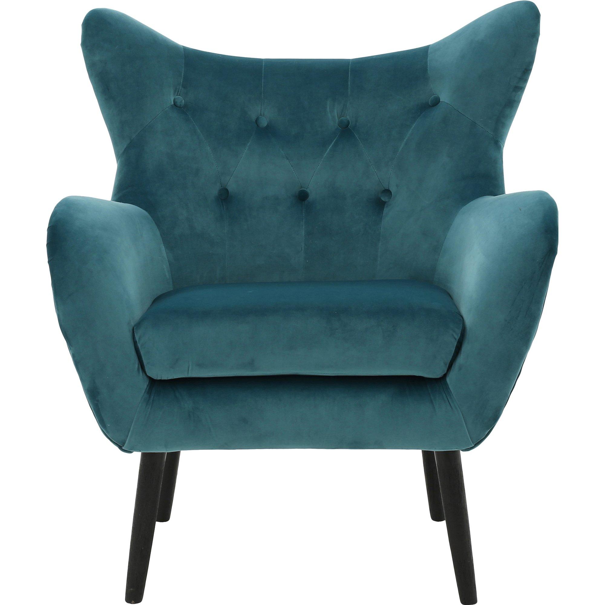 Saphira Wingback Chair by AllModern