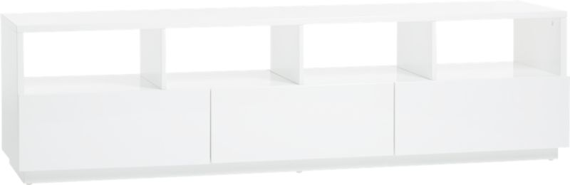 Chill Large White Media Console