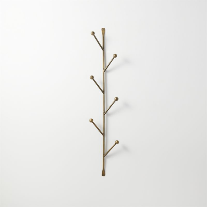Barker Vertical Wall Mounted Coat Rack