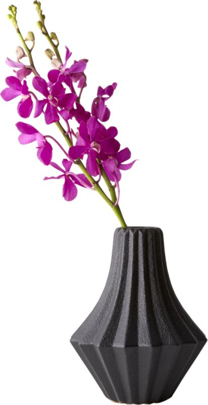 Sia Black Vase
