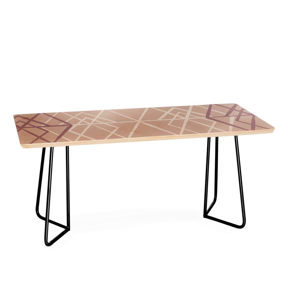 Pangea steve coffee table elegant brass by one kings lane mareike boehmer geometric sketches 2 coffee table geotapseo Gallery