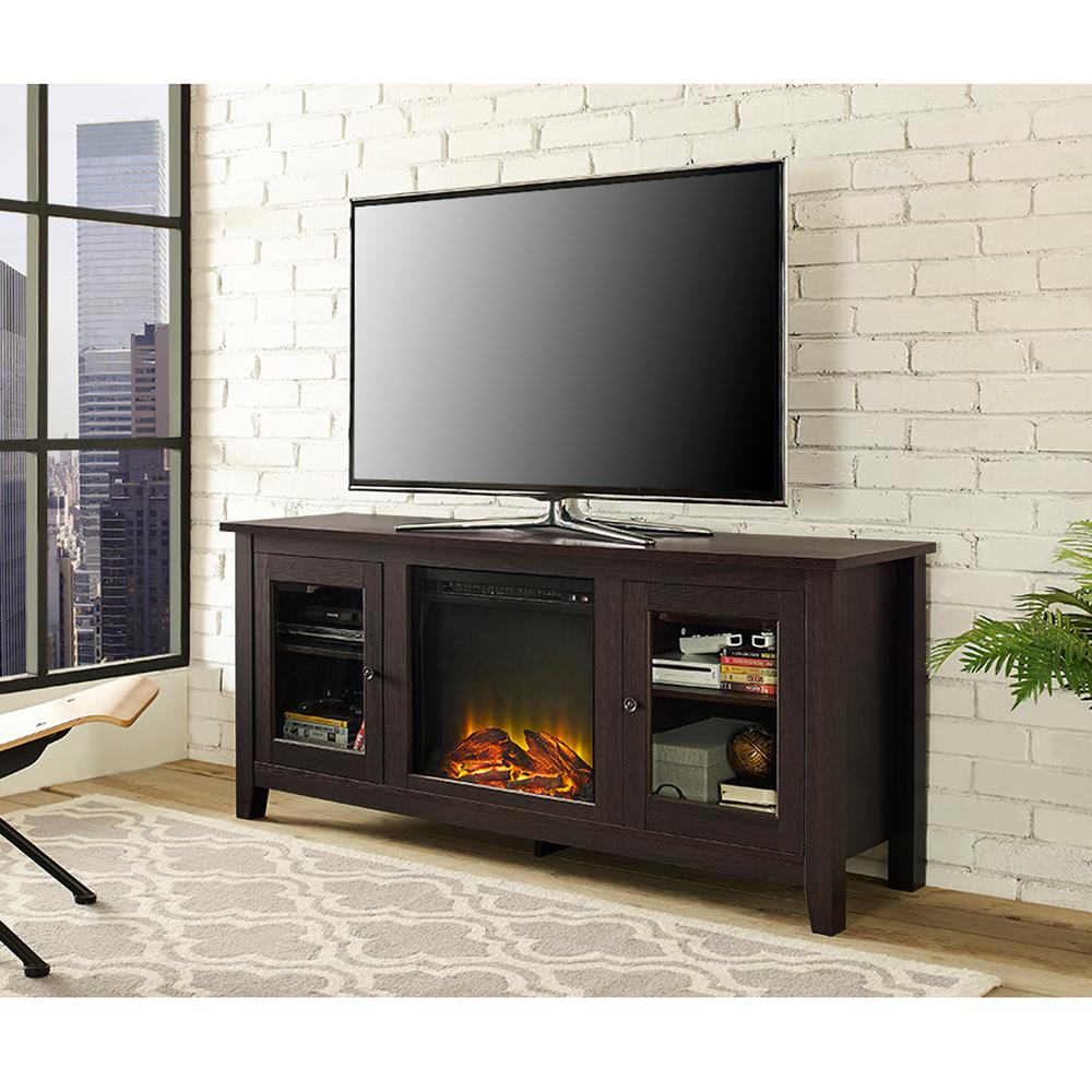 lafayette black entertainment center by home depot havenly