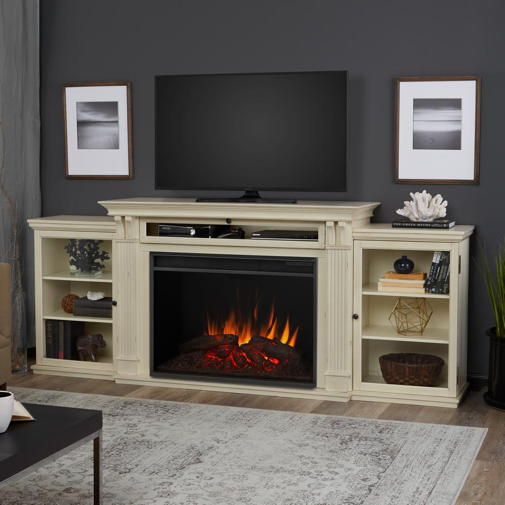 bellevue park 59 in media console infrared electric by home
