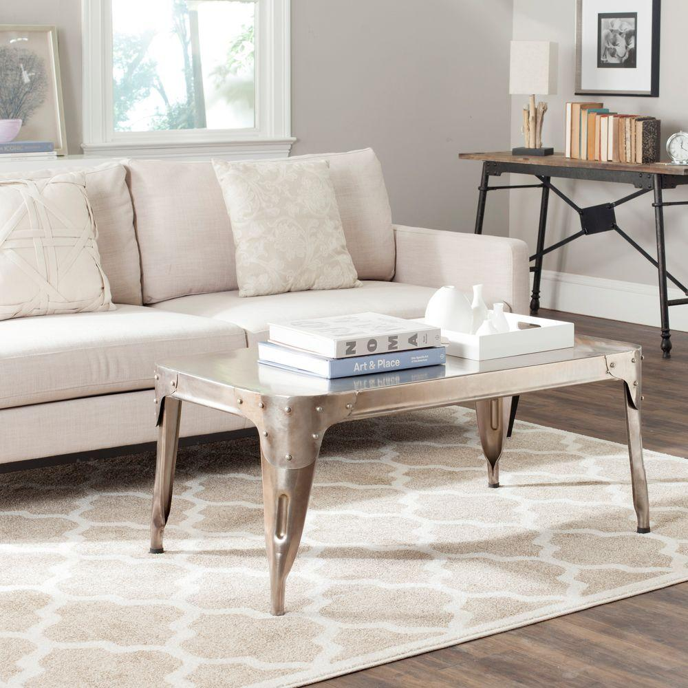 jordan marble finish 42 in coffee table by home depot havenly