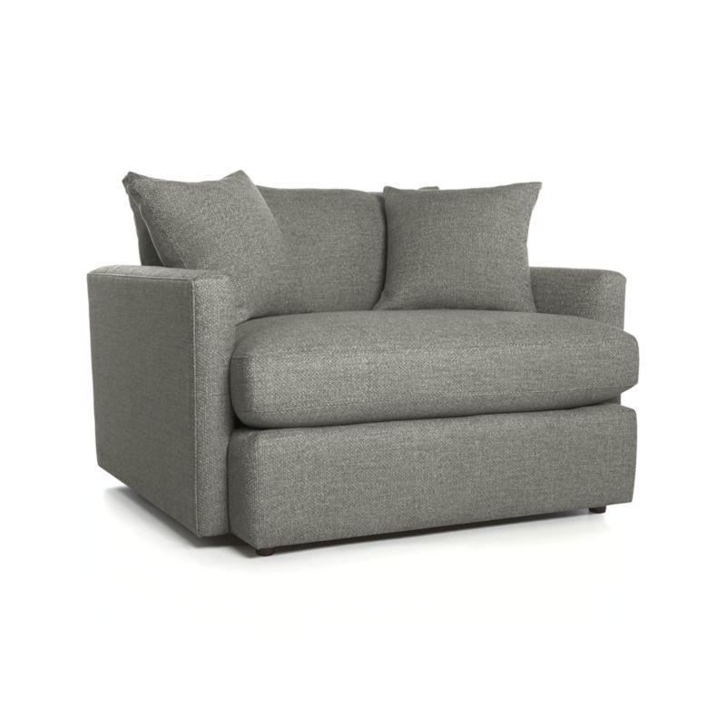 Lounge II Chair and a Half- Taft, Steel