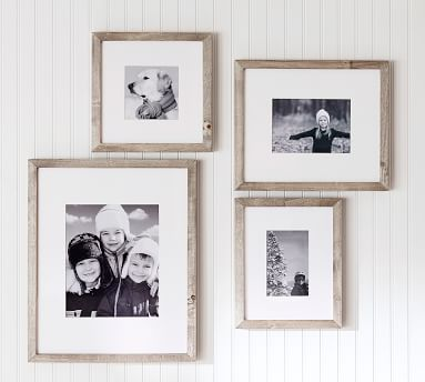 Wood Gallery Single Opening Frame, 5x7 - Gray