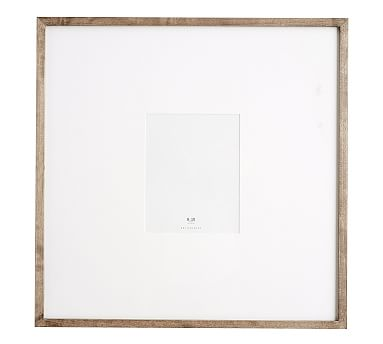 Wood Gallery Oversized Frame, 8 x 10 - Gray