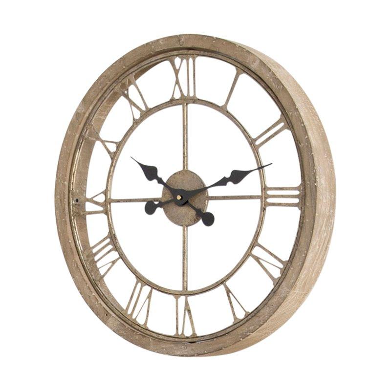 Natural Wood Wall Clock - Medium