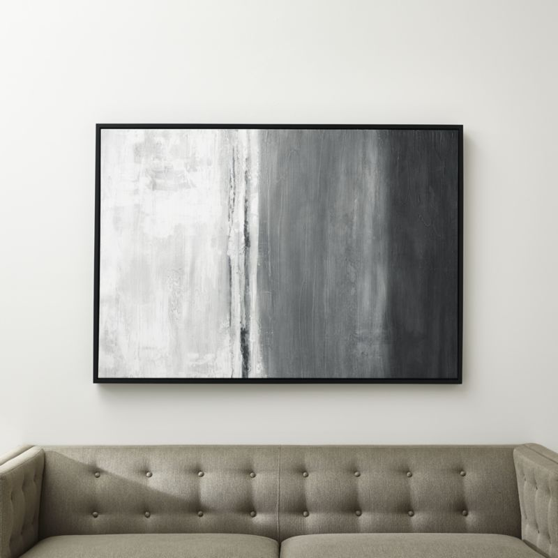 Gray Horizon Print