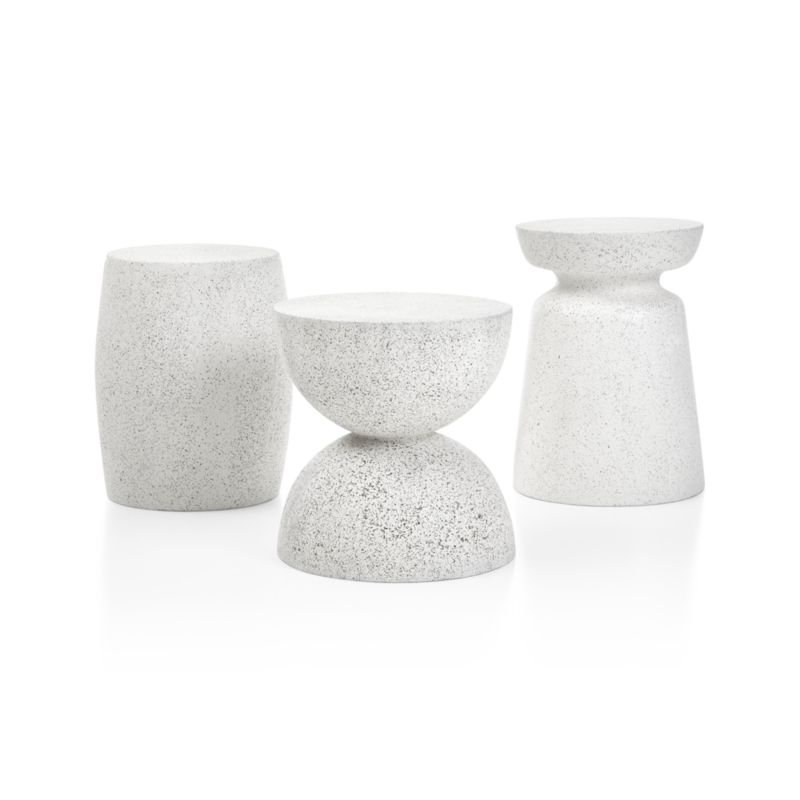 Crest Side Table-Stool