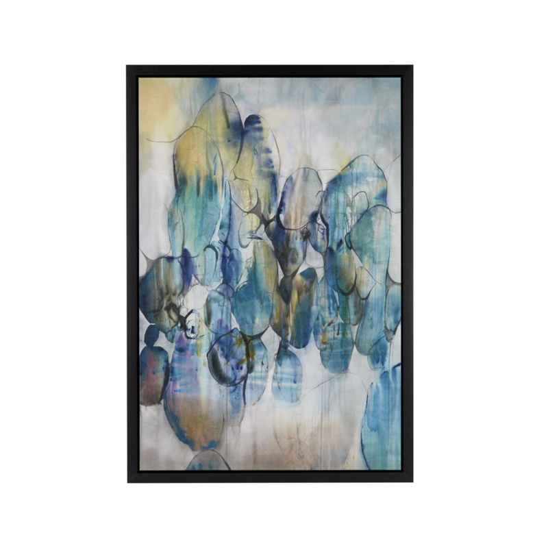 Turquoise Assemblage Print