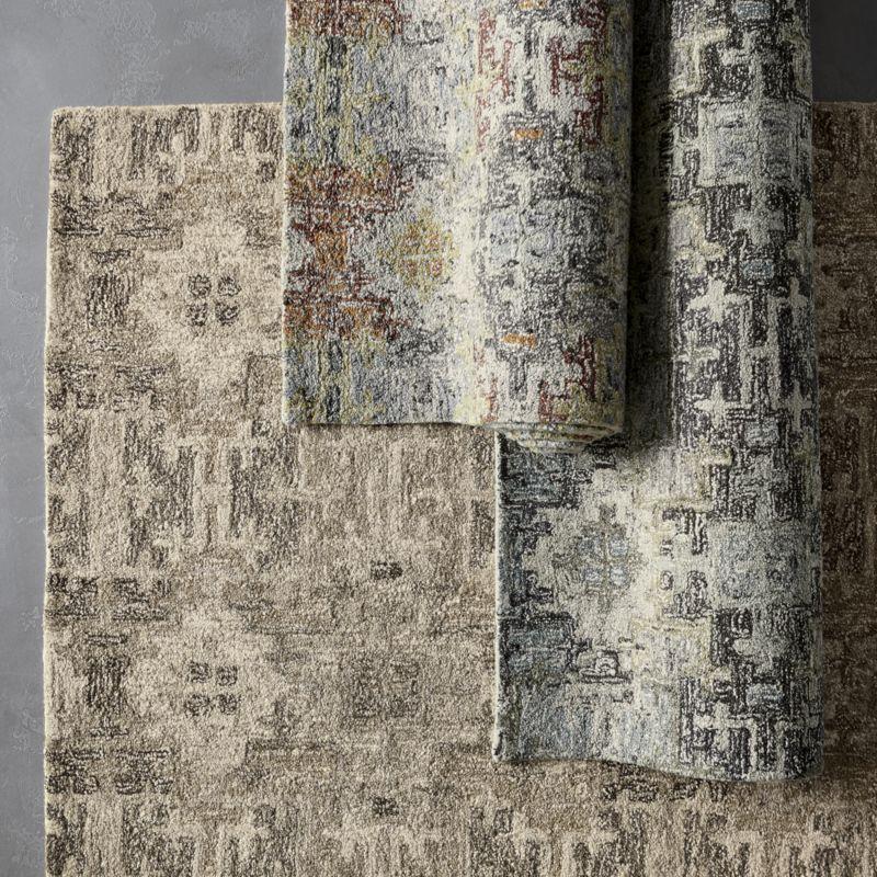 Alvarez Mineral Blue Wool-Blend 9'x12' Rug
