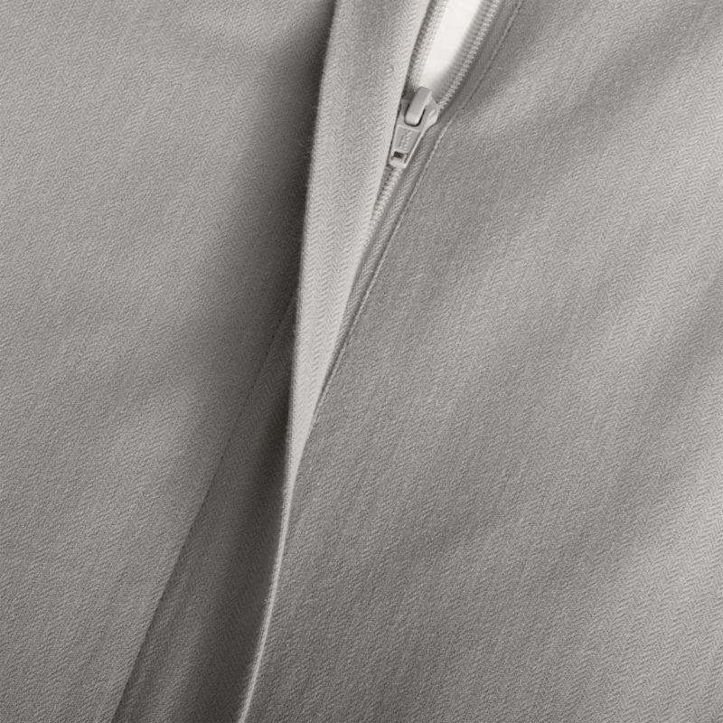 Lindstrom Grey King Duvet Cover