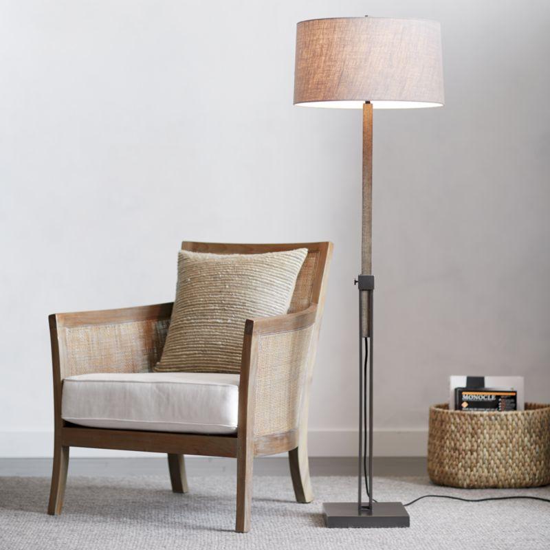 Denley Bronze Floor Lamp