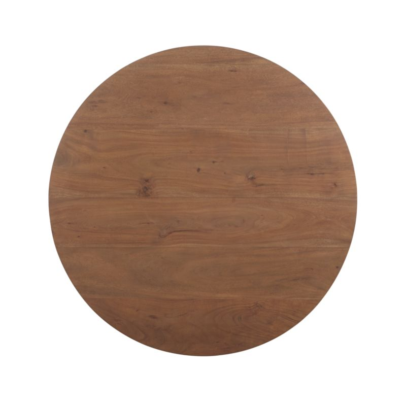 """Revolve 48"""" Round Adjustable Height Dining Table"""