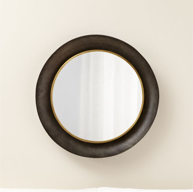 Dish Round Wall Mirror