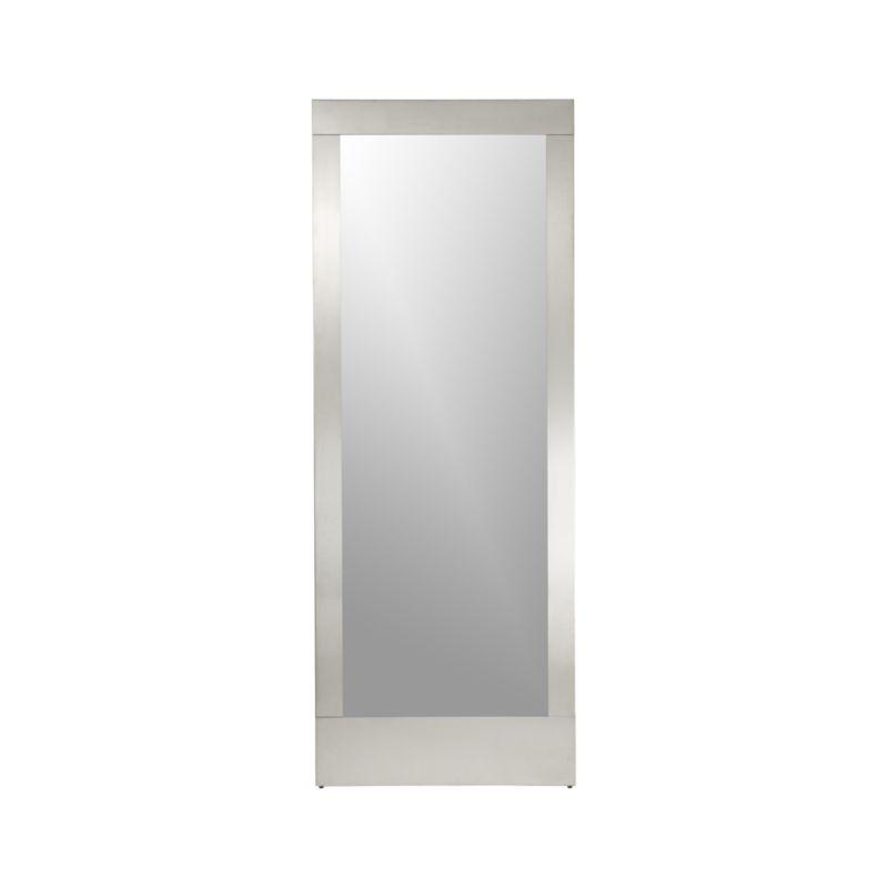 Colby Nickel Floor Mirror