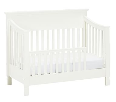 Larkin Toddler Bed Conversion Kit, Simply White, In-home
