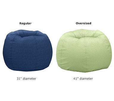 Cream Sherpa Anywhere Beanbag(TM) Insert & Slipcover Set