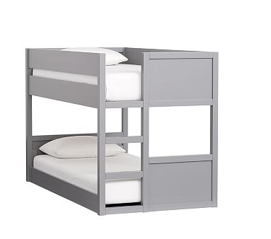 Camden Low Bunk Bed, Simply White