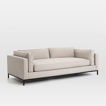 Modern Arm Sofa, Natural