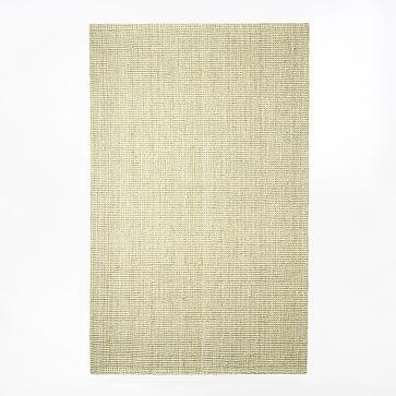 Jute Boucle Rug, 8'x10', Ivory