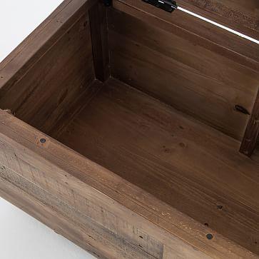 Emmerson(TM) Reclaimed Wood Storage Bench