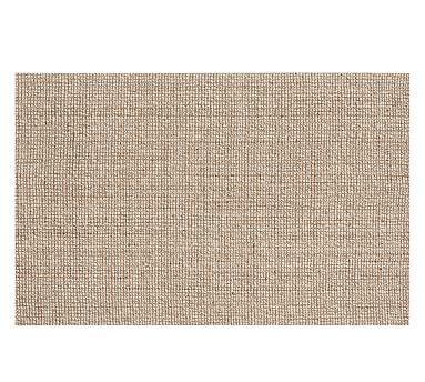 Chunky Wool Jute Rug 10 X 14 Natural