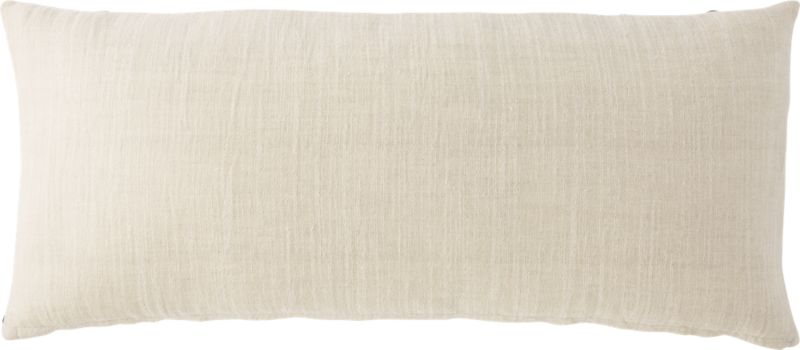 """36""""""""x16"""" forma pillow with feather-down insert"""""""