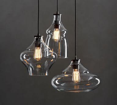 McCarthy 3-Light Glass Pendant