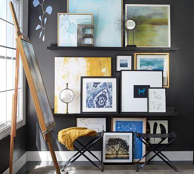 "Sunken Treasure Framed Canvas by Mary Elizabeth Peterson, 50 x 50"""