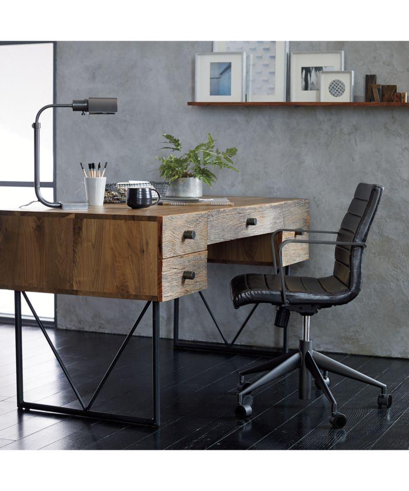 Graham Black Office Chair