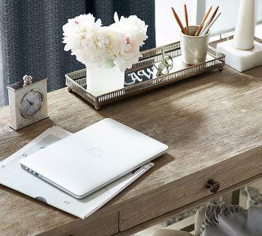 Toulouse Vanity Desk, Gray Wash