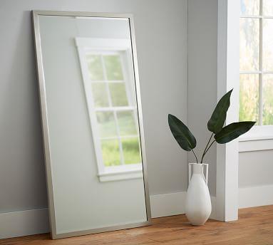 """Studio Floor Mirror, 36 x 66"""", Antique Bronze"""
