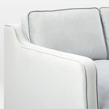 "Hamilton Upholstered 81"" Sofa, Chenille Tweed, Nightshade"