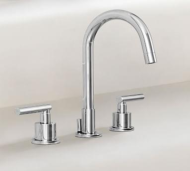 Exton Lever-Handle Widespread Bathroom Faucet, Antique Bronze Finish