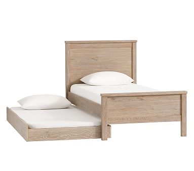 Charlie Low Footboard Bed, Full, Smoked Gray