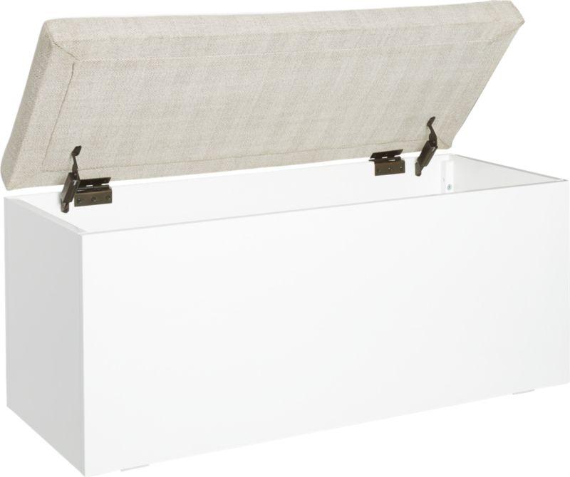 Catch-All Sand Storage Bench