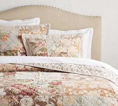 Carolina Floral Patchwork Reversible Quilt, Full/Queen, Multi