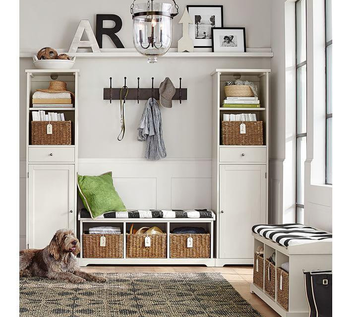 Samantha Rectangle Shelf Basket