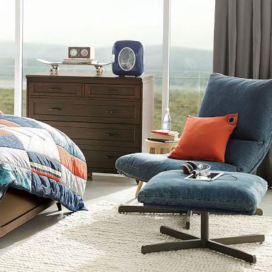 Hampton 5-Drawer Dresser, 5 Drawer, Brushed Fog