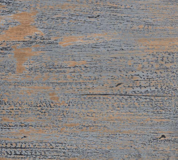 Molucca Media Console, Distressed Blue