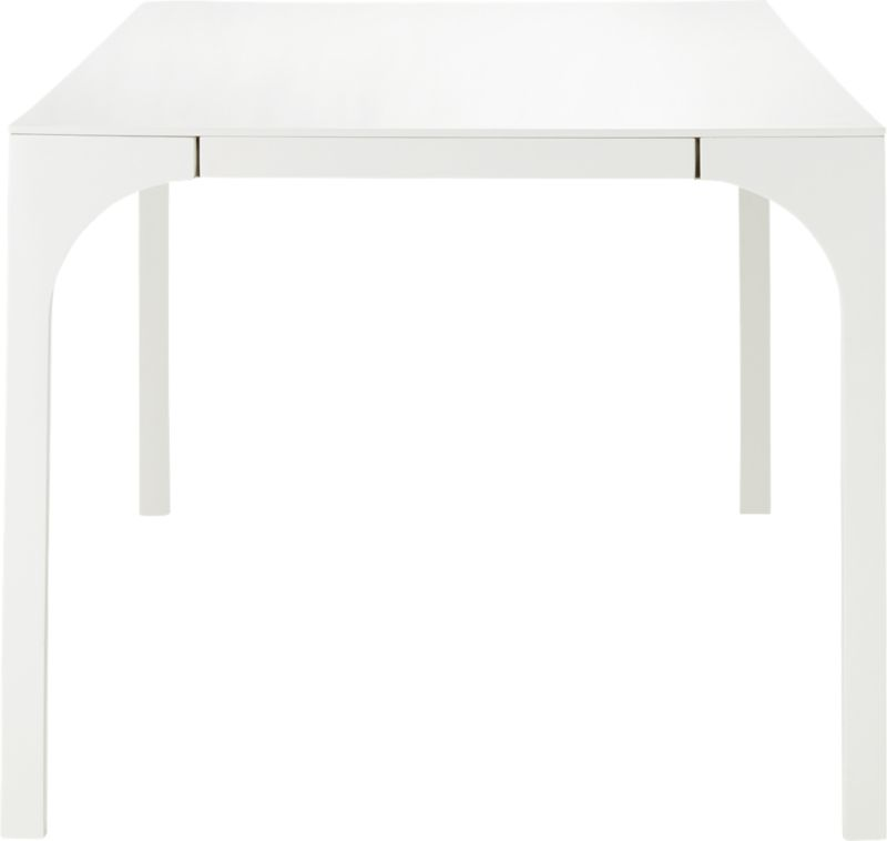 Aqua Virgo Large White Dining Table