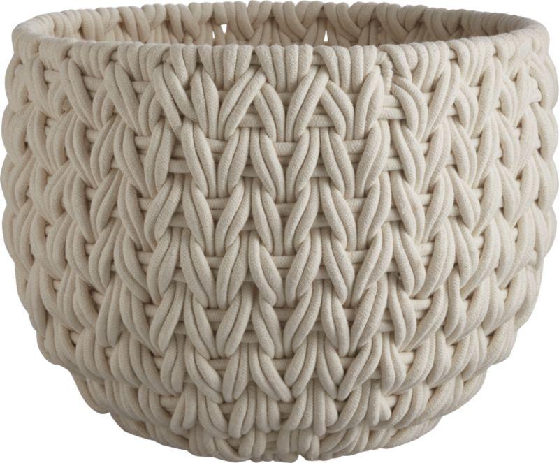 Conway Extra Large White Basket
