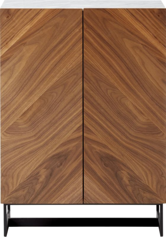 Suspend II Wood Entryway Cabinet