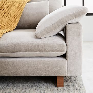 Harmony Sectional Set 05: XL Left Arm 2.5 Seater, XL Right Arm Chaise, Eco Weave, Oyster